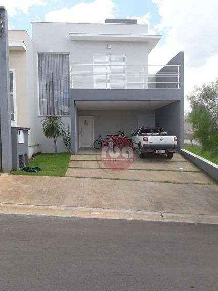Casa Com 3 Dormitórios À Venda, 170 M² Por R$ 690.000 - Condomínio Villagio Milano - Sorocaba/sp - Ca1583