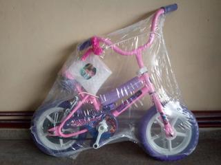 Bicicleta Rod.12 Nena Dama Niña De Piñon Libre.