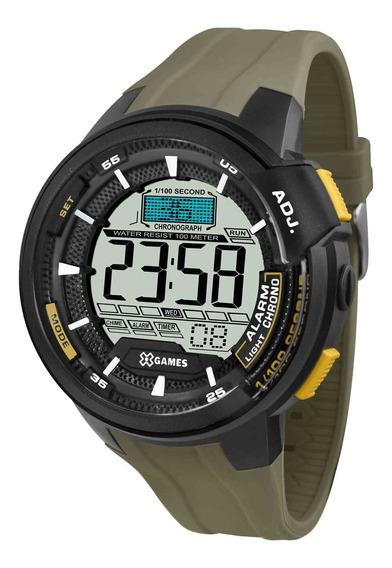 Relógio Xgames Xmppd470 Bxex Masculino Preto