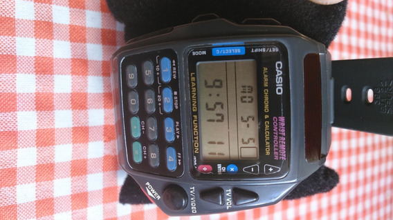 Relogio Casio Cmd 40 Com Manual Original Raro