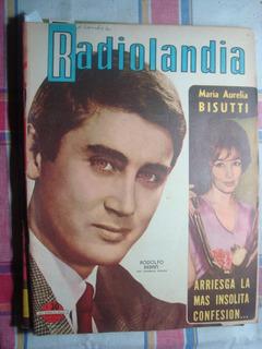 Radiolandia 1987 Bebán Bisutti Sandrini Pastorino Barreiro