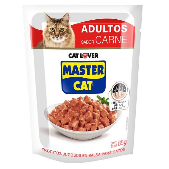 Gato Trocitos Jugosos Carne 20 Unidades