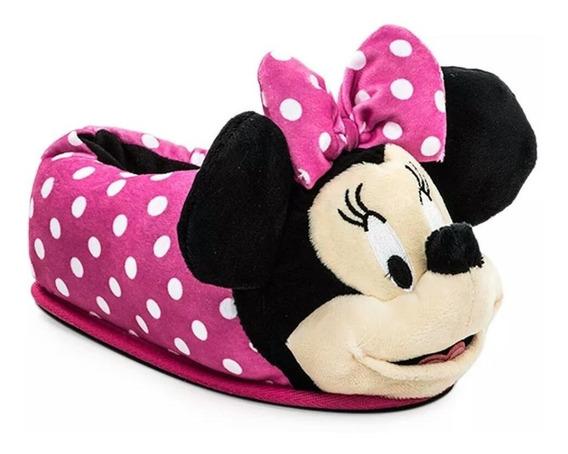 Pantufla Addnice Minnie Disney Suela Goma Antideslizate