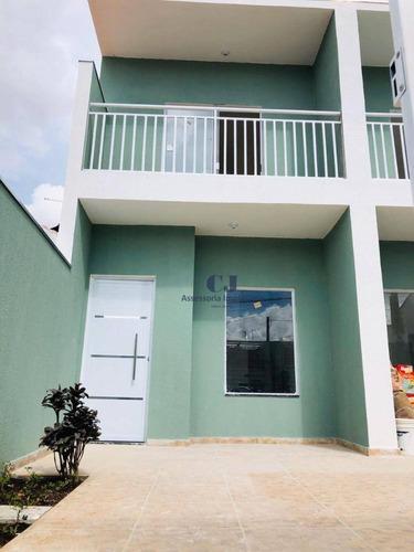 Casa Com 2 Dormitórios À Venda, 150 M² Por R$ 221.000,00 - Jardim Wanel Ville Iv - Sorocaba/sp - Ca0469