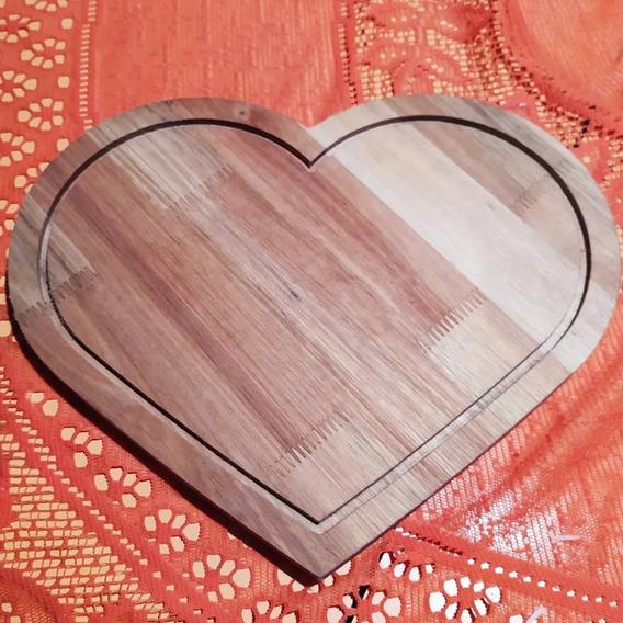 Tabla De Picadas Corazón