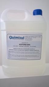 Removedor De Esmalte 60% Galão 5 Litros