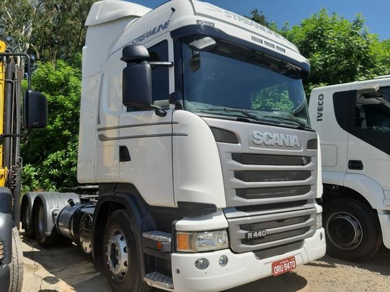 Scania 440 Streamline Ano 2015 Truck 6x4
