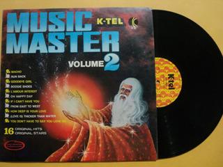 Lp Music Master Volume Ii 2- C/ Vários- 1978 Zerado Frete 15