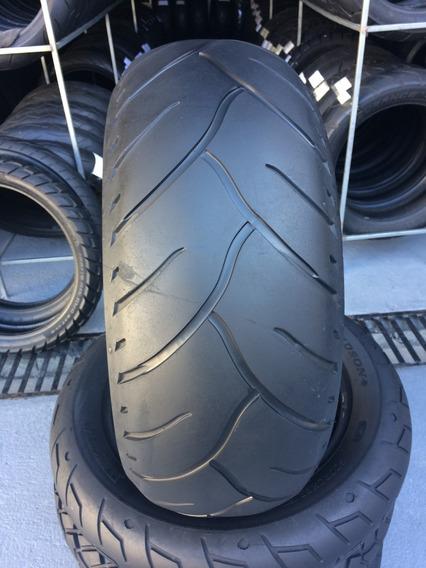Pneu Traseiro 240/40/18 Dunlop G3 Usado Moto Custom Hd