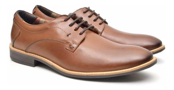 Sapato Social Em Couro Marca Fork