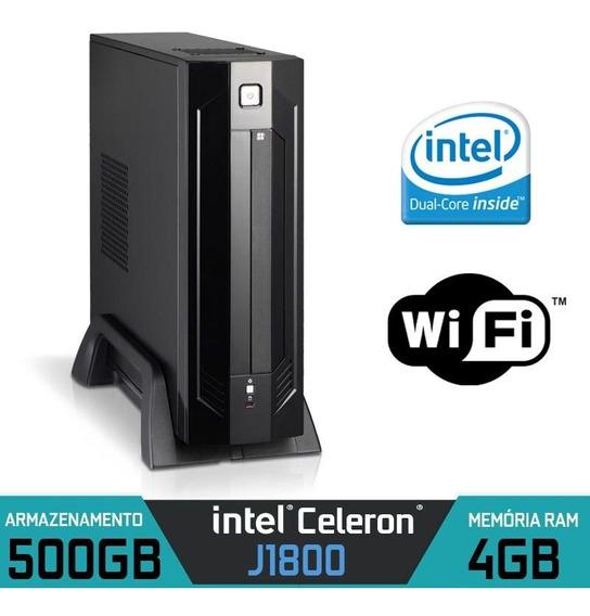 Mini Pc Firewall Intel Dual Core Ram 4gb Hd 500gb Dual Lan