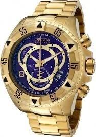 Relógio Invicta Excursion 6469 Bnh A Ouro 18k