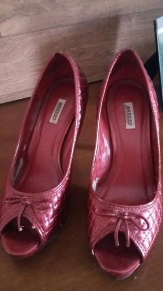 Sapato Vemelho Arezzo Tam. 35