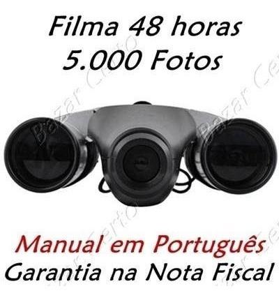 Binóculo Espião 5.000 Fotos - Vídeo 48 Hs Manual Português
