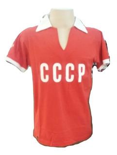 Camisa Em Homenagem A Seleção Da Russia - Cccp 1960