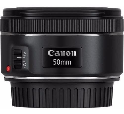 Imagem 1 de 4 de Lente Canon Ef 50mm F/1.8 Stm Promoção  Pronta Entrega