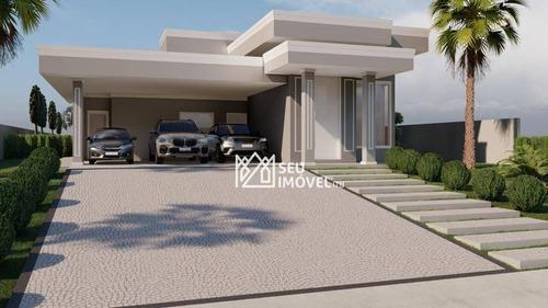 Imagem 1 de 15 de Casa Com 3 Dormitórios À Venda, 323 M² Por R$ 1.800.000,00 - Condomínio Village Castelo - Itu/sp - Ca2333