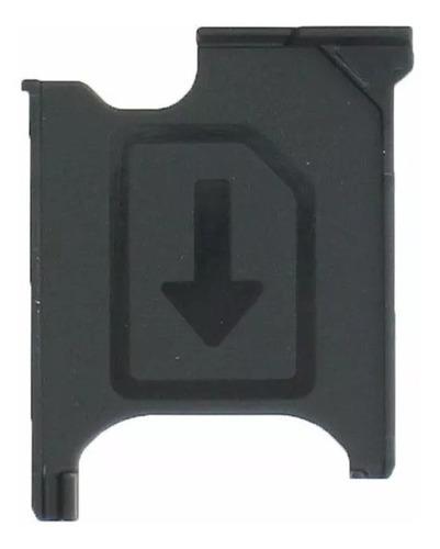 Imagem 1 de 1 de Bandeja Gaveta Chip Sim Card Sony Xperia T2 Ultra D5322