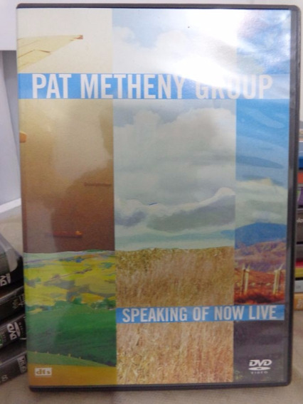 Dvd Pat Metheny Group - Speaking Of Now Live