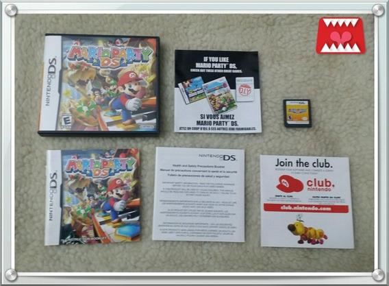 Jogo Mario Party Nintendo Ds Nds 100% Original