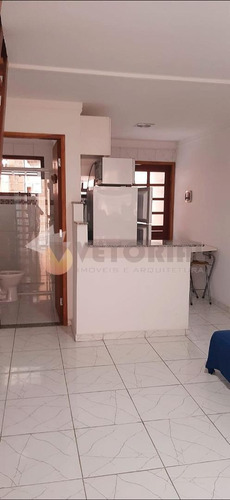 Flat Com 1 Dormitório À Venda, 50 M² Por R$ 245.000 - Martim De Sá - Caraguatatuba/sp - Fl0002