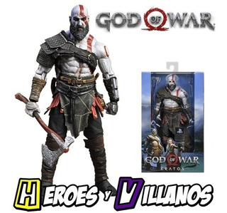 Figura Kratos De God Of War Marca Neca 2018