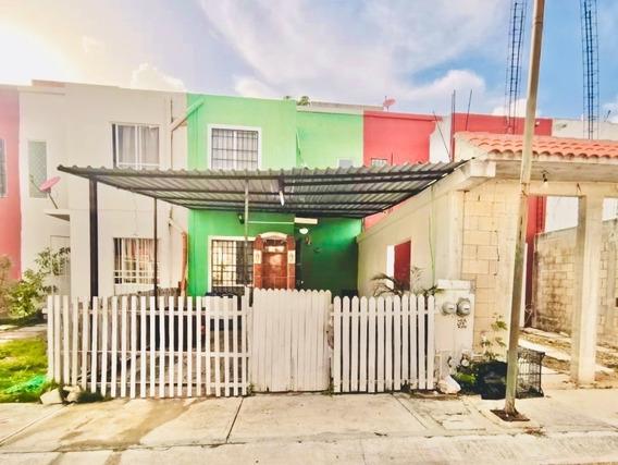 Casa En Venta 2 Recamaras En Palmas 1 Por El Hospital En Playa Del Carmen
