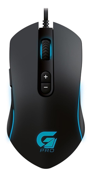 Mouse Gamer Fortrek Pro M7 Rgb Usb 4800 Dpi 7 Botões Preto