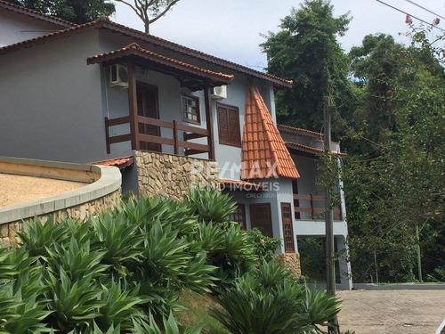 Imagem 1 de 30 de Casa Com 3 Dormitórios Para Alugar, 420 M² Por R$ 5.350,00/mês - Condomínio Chácara Flora - Valinhos/sp - Ca1022