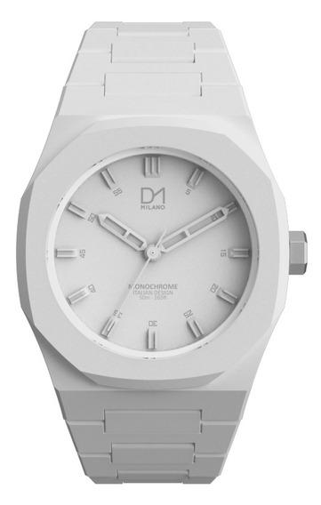 Reloj Ultra Ligero Monochrome White D1milano