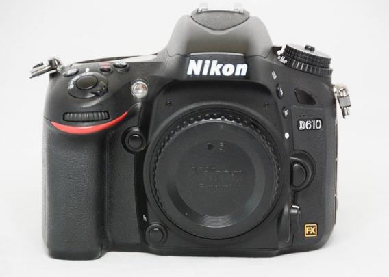 Nikon D610 Full Frame Novissima Somente 16 Mil Cliques