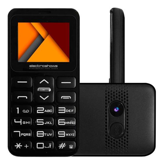 Celular Liberado Adultos Mayores Mp3 Dual Sim Camara Clasico