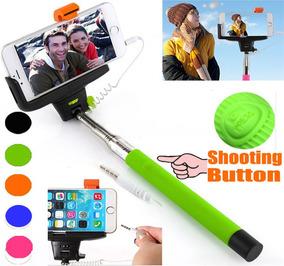 Pau Selfie Monopod + Bastão De Selfie Com Botão Disparador