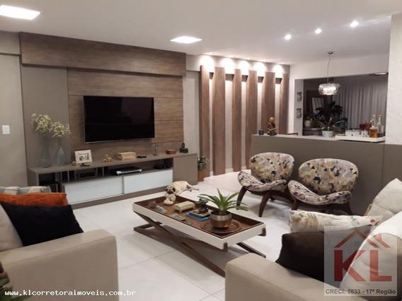 Apartamento Para Venda Em Natal, Lagoa Nova, 4 Dormitórios, 3 Suítes, 5 Banheiros, 2 Vagas - Ka 0863
