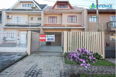 Sobrado Com 3 Dormitórios À Venda, 203 M² Por R$ 585.000 - Santa Felicidade - Curitiba/pr - So0187