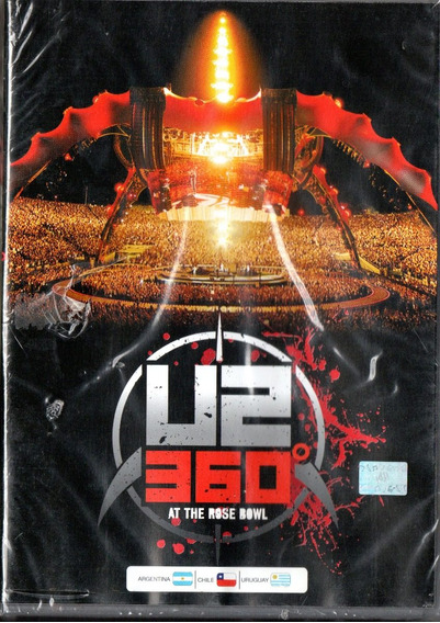 U2 360º At The Rose Bowl Dvd - Los Chiquibum
