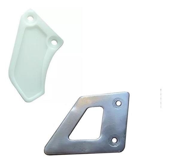 Guia De Corrente + Protetor Pinça Do Freio Traseiro Xt-600