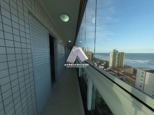 Imagem 1 de 20 de Apto 2 Dormitórios 91m²- 150 Mts Praia- Caiçara- Amf497