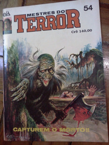 Mestres Do Terror - Nº 54 - Capturem O Morto