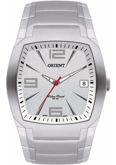 Relógio Masculino Analógico Orient Prata Quadrado