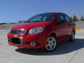 Chevrolet Aveo 1.6 Ltz At 2013 Rojo