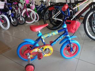 Bicicleta Infantil Kuma Red Disney