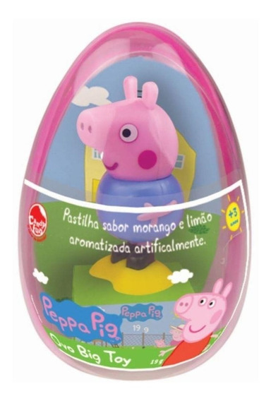 Peppa Pig Ovo De Pascoa Big Toy Dtc