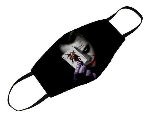 Mascara Personalizada Coringa Vilão Dc Comics Filme