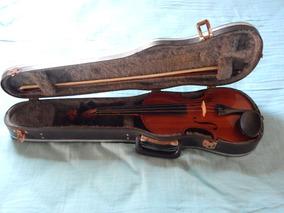 Violino Roma 3/4 Com Case E Breu E Arco Ano 2002 + Afinador