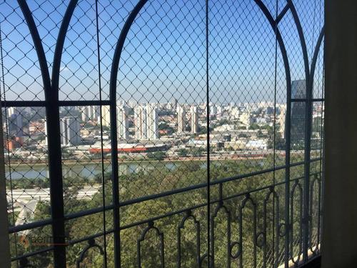 Imagem 1 de 16 de Magnifico Apartamento Com 4 Suítes À Venda, 445 M² - Panamby - São Paulo/sp - Ap2150