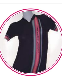 Camiseta De Ciclismo Manga Corta Dama