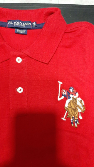 Chomba Polo Us. Assn Talle Xl (18)