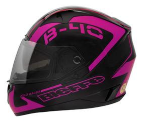 Lançamento Capacete Feminino Bieffe B40 Road Racer Rosa