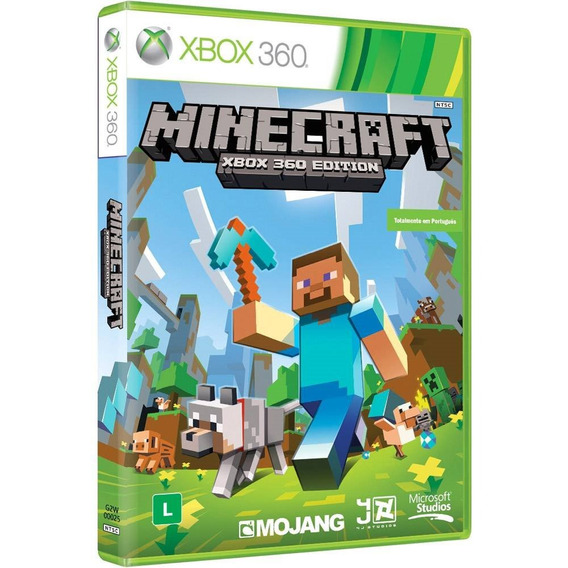 Jogo Minecraft Xbox 360 Novo Original Midia Fisica Mxtgm
